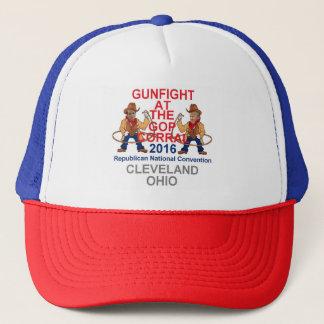 Republikaner-Versammlungs-Fernlastfahrer-Hut 2016 Truckerkappe