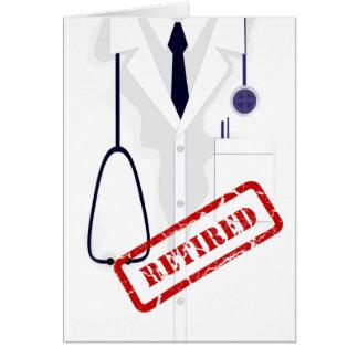Rertired Doktor Medical Coat Male Custom Karte