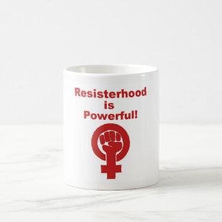 Resisterhood ist leistungsfähige Tasse, Kaffeetasse