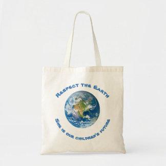 Respekt-Zukunft der Planeten-ErdTaschen-Tasche Tragetasche