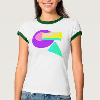 Retro 80er Art-Neon abstraktes Shirt