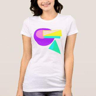 Retro 80er Art-Neon abstraktes Shirt #2