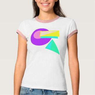 Retro 80er Art-Neon abstraktes Shirt #3