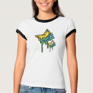 Retro 80er Art-Neon Stern-Shirt Tshirts