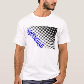 Retro 80er fantastisch! Schwarz-weiße Punkte T-Shirt