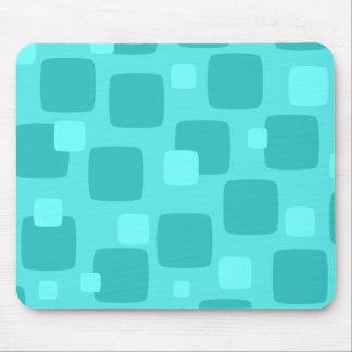 Retro aquamarines Mousepad