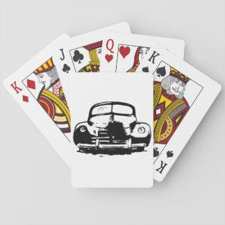 Retro Auto-Spielkarten Spielkarten