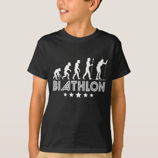 Retro Biathlon-Evolution T-Shirt