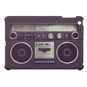 Retro Boombox Kassettenrecorder lustiger iPad Fall iPad Mini Hülle