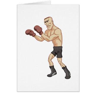 Retro Boxer Karte