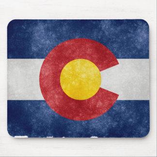 Retro Colorado-Flaggen-Mausunterlage Mauspad