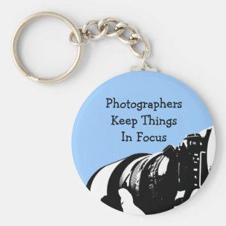 Retro Fotograf Keychain Geschenke Standard Runder Schlüsselanhänger