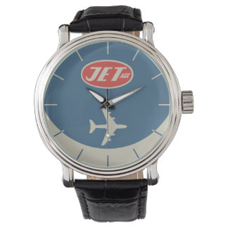 Retro Jet-Alter Armbanduhr