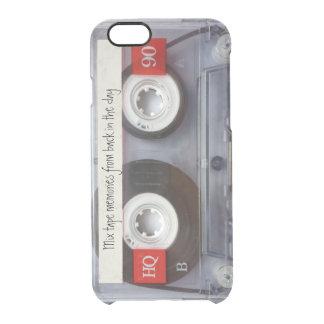 Retro Kassette Durchsichtige iPhone 6/6S Hülle