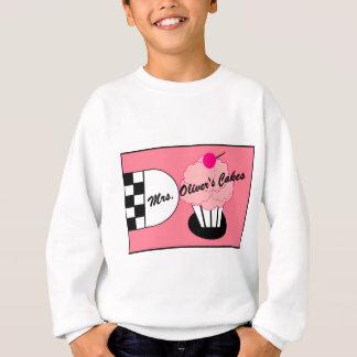 Retro Kuchen-Entwurf Sweatshirt