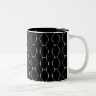 Retro Kunst-Entwurfs-KettenTasse Zweifarbige Tasse