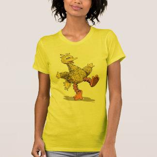 Retro Kunst-großer Vogel T-Shirt
