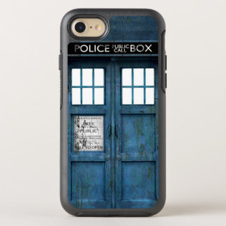 Retro lustige Polizei ruft Telefonzelle an OtterBox Symmetry iPhone 7 Hülle