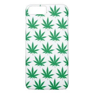 Retro lustiges Topf-Blatt-Muster iPhone 8 Plus/7 Plus Hülle