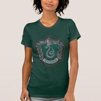 Retro mächtiges Slytherin Wappen Harry Potter | T-Shirt