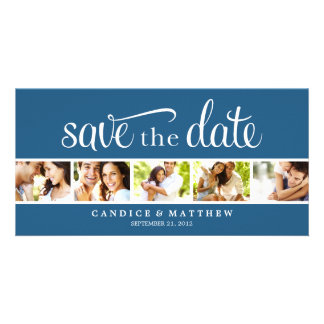 RETRO MITTEILUNG DER LIEBE-%PIPE% SAVE THE DATE INDIVIDUELLE PHOTO KARTEN