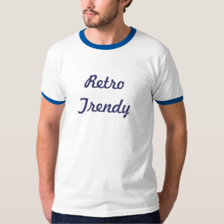 Retro modisches T-Shirt