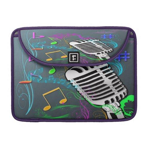 Retro Musik Macbook Prohülse Sleeves Für MacBook Pro
