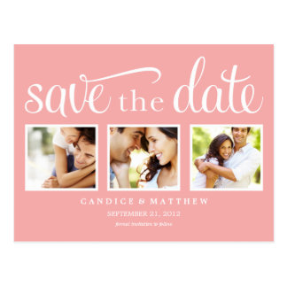 RETRO %PIPE% SAVE THE DATE MITTEILUNG POSTKARTE