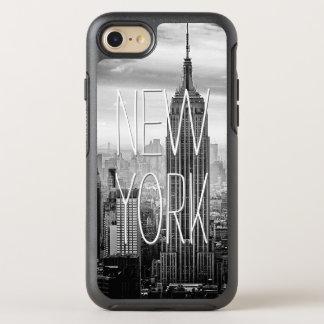 Retro Schwarz-weiße New- OtterBox Symmetry iPhone 7 Hülle