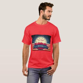 Retro Skyline Las Vegass Nevada T-Shirt