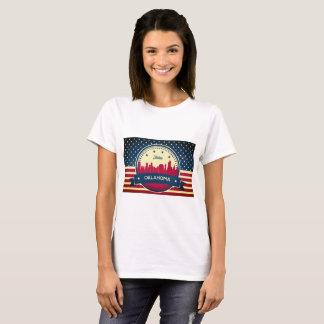 Retro Skyline Tulsas Oklahoma T-Shirt
