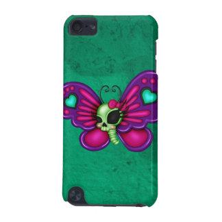 Retro Spaß-Zombie-Schmetterling iPod Touch 5G Hülle