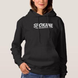 Retro Spokane-Logo Hoodie