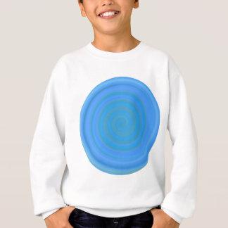 Retro Süßigkeits-Strudel in der Blaubeere Sweatshirt