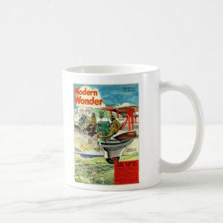 Retro Vintages modernes Wunder Kitsch Sci FI 30s Tasse