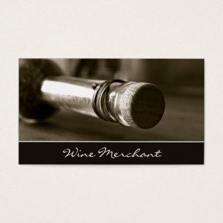 Retro, Vintages Wein-Flaschen-Foto - Visitenkarten