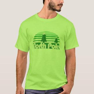 Retro Weihnachten Nordpols T-Shirt