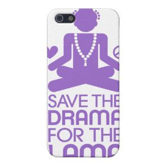 Retten Sie das Drama für den lila Lama - Etui Fürs iPhone 5