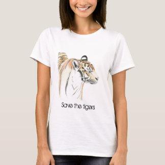 Retten Sie das Tiger T-Shirt