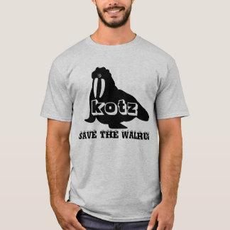 RETTEN SIE DAS WALROSS T-Shirt