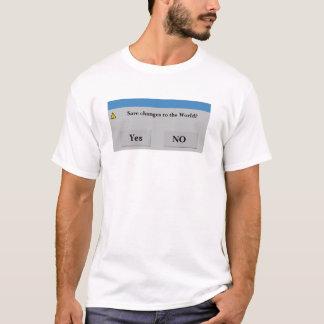 Retten Sie das WeltShirt T-Shirt