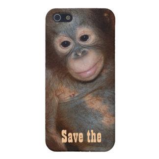Retten Sie den Orang-Utans die Mittel Hülle Fürs iPhone 5