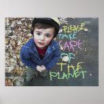 Retten Sie den Planeten Poster