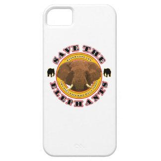 Retten Sie die Elefanten iPhone 5 Schutzhüllen