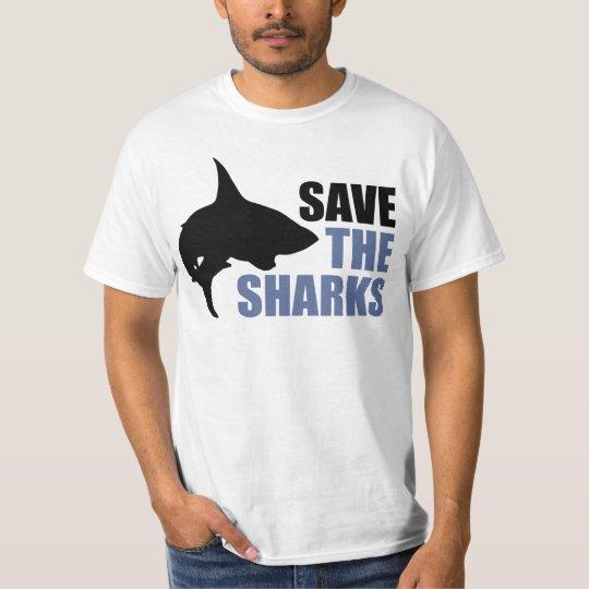 Retten Sie die Haifische, retten Sie das T-Shirt