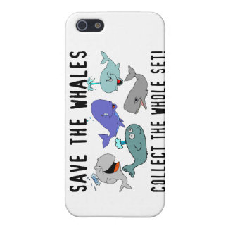 Retten Sie die Wale sammeln das ganze Set Hülle Fürs iPhone 5