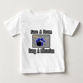 Retten Sie einem Trommel-… Knall einen Baby T-shirt