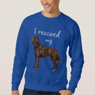 Rettungs-amerikanisches WasserSpaniel Sweatshirt