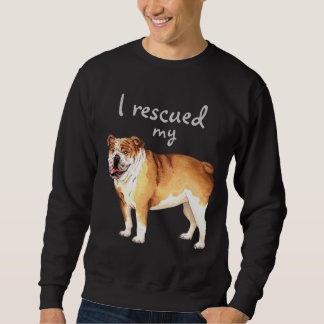 Rettungs-Bulldogge Sweatshirt