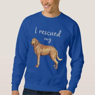 Rettungs-Chesapeake Bay-Retriever Sweatshirt